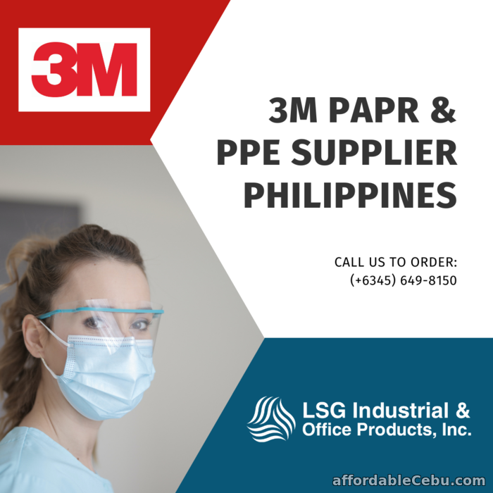 1st picture of 3M PAPR Supplier Philippines For Sale in Cebu, Philippines