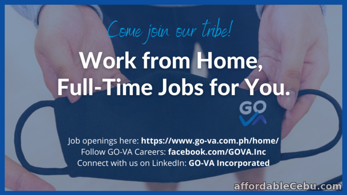 1st picture of Work From Home Job: Appointment Setter - GO Virtual Assistants Looking For in Cebu, Philippines