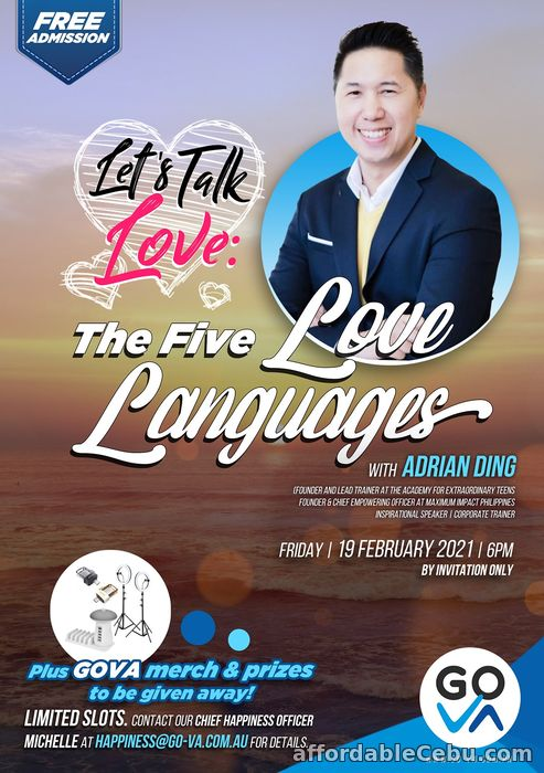 1st picture of The Five LOVE Languages with Adrian Ding - GO Virtual Assistants (GO-VA) Offer in Cebu, Philippines