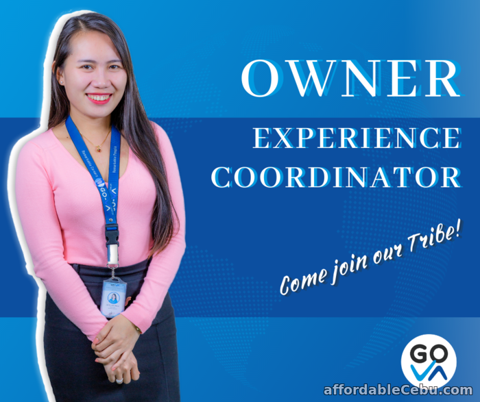 1st picture of Work From Home Job: Owner Experience Coordinator - GO Virtual Assistants Looking For in Cebu, Philippines