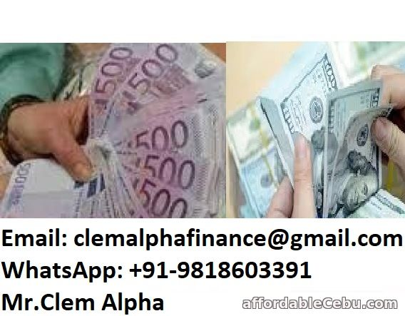 1st picture of ARE YOU IN NEED OF URGENT LOAN OFFER FOR URGENT USE Wanted to Buy in Cebu, Philippines