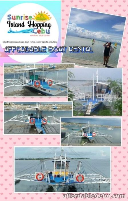 1st picture of Boat Rental for CEBU Island Hopping For Rent in Cebu, Philippines