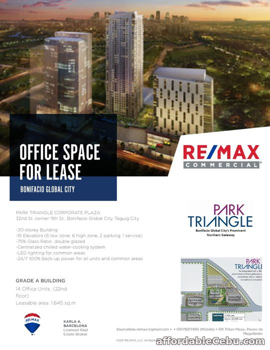 1st picture of Park Triangle Corporate Plaza For Rent in Cebu, Philippines