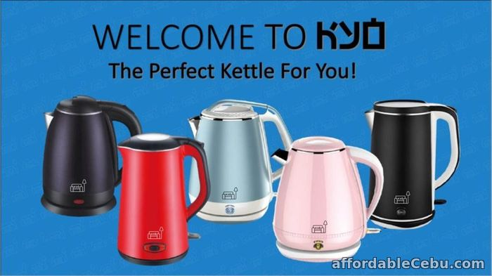 1st picture of Best electric kettle in Singapore – KYO Appliances For Sale in Cebu, Philippines