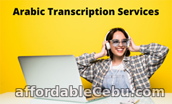 1st picture of Professional Arabic Transcription Services For Sale in Cebu, Philippines