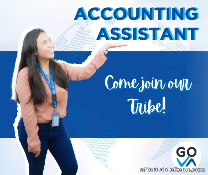 1st picture of Work From Home Job For Hire: Accounting Assistant - GO Virtual Assistants Looking For in Cebu, Philippines