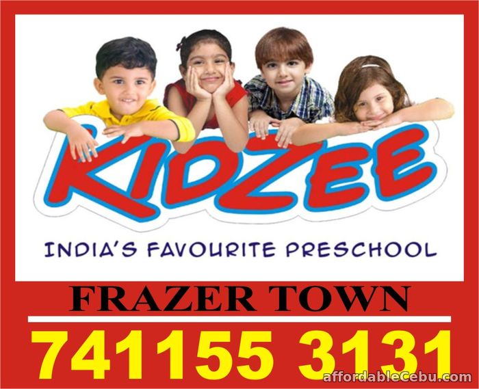 1st picture of Play School Admission Started Now  Kidzee Frazer Town   1813   Offer in Cebu, Philippines