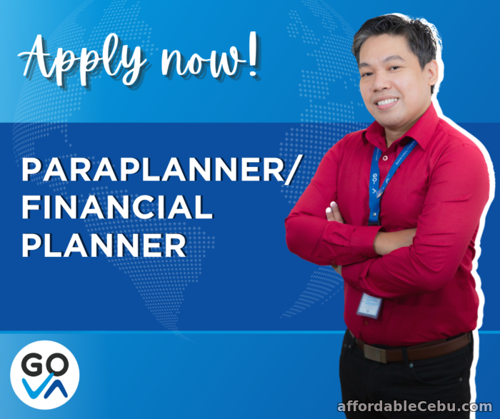 1st picture of Work From Home Job For Hire: Paraplanner or Financial Planner - GO Virtual Assistants Looking For in Cebu, Philippines