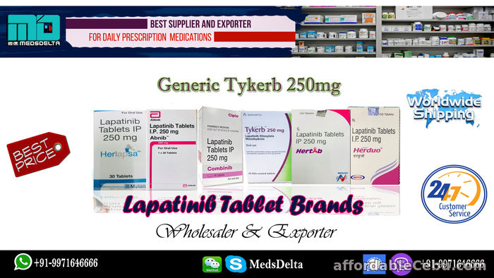 1st picture of Generic na Tykerb Mga Kahalili Lapatinib Tablet Online For Sale in Cebu, Philippines