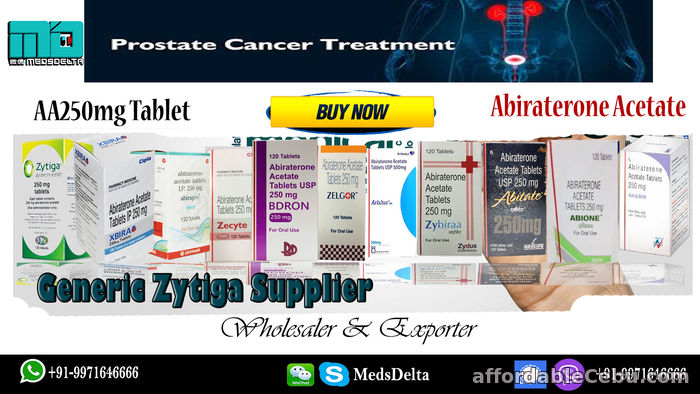 1st picture of Indian Abiraterone Tablet Price Online   Biogeneric Zytiga Supplier USA   Xbira Cost UK For Sale in Cebu, Philippines