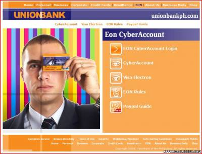 Picture of How to Pay Your Globe Bill Online Thru UnionBank EON Account?