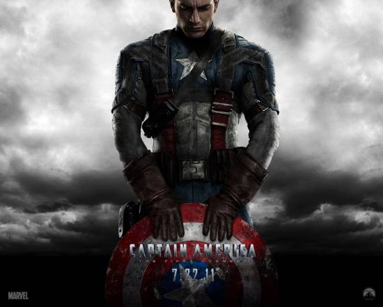 Picture of Captain America: The First Avenger High Quality (HD) Wallpaper