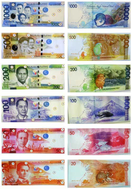 what is our new philippine money made up of