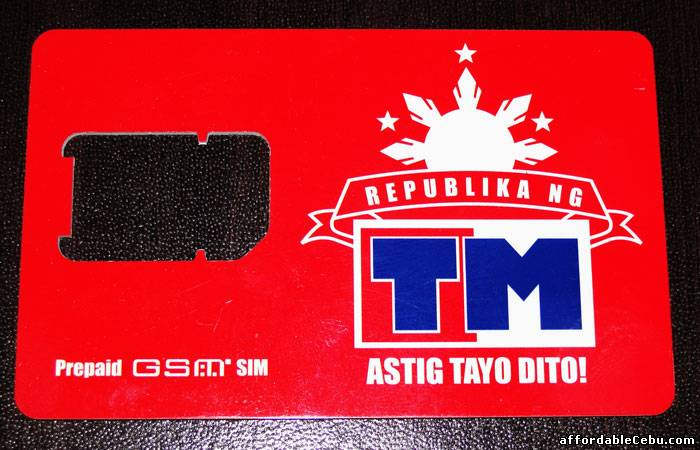 Replacement for Lost, Damaged or Stolen Touch Mobile (TM) Sim Card (Retaining Same Phone Number