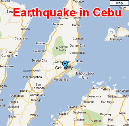 Picture of Terrible Earthquake in Cebu, Philippines - February 6, 2012