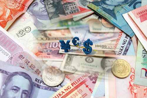 Money Changer Of Forex Currencies
