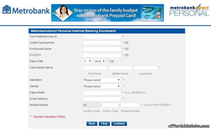 How to Apply Metrobank Credit Card Online – Easiest Way 0 One of the perks of having a credit card is that, while waiting for your income to be realized, you have the advantage of spending now.