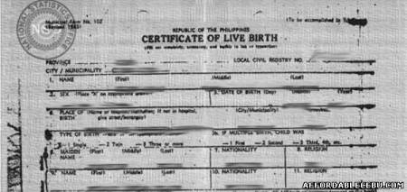 how to get certified copies of birth certificate in tasmania