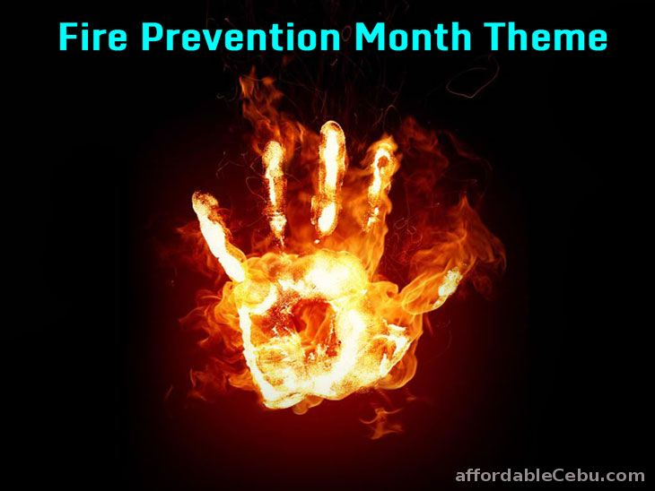 fire prevention month theme 2016 philippine government 30286