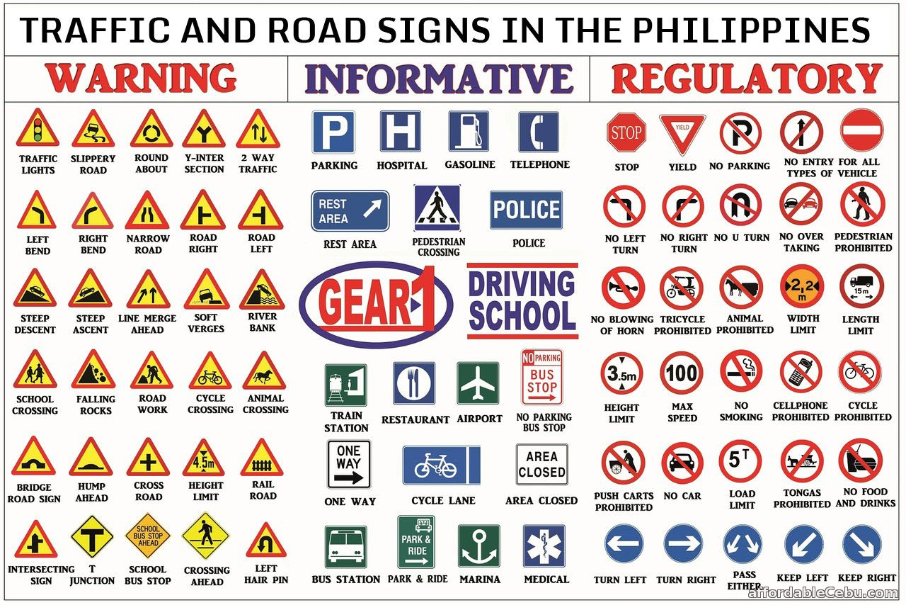 List of traffic signs in the philippines philippine government 30228 buycottarizona Image collections