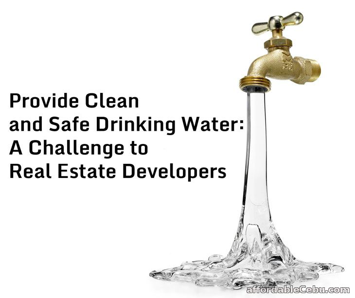 Provide Clean and Safe Drinking Water: A Challenge to Real ...