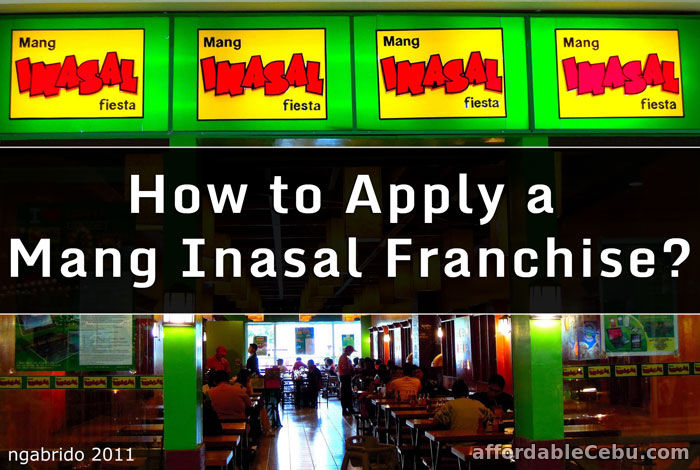how to apply a mang inasal franchise