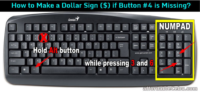 How To Make Dollar Sign In Keyboard Computer Or Laptop