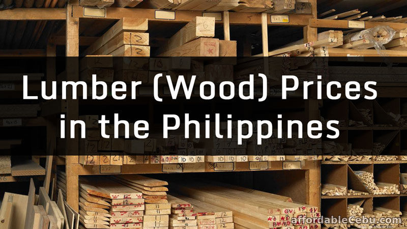 List of Construction Lumber (Wood) Pricelist in the