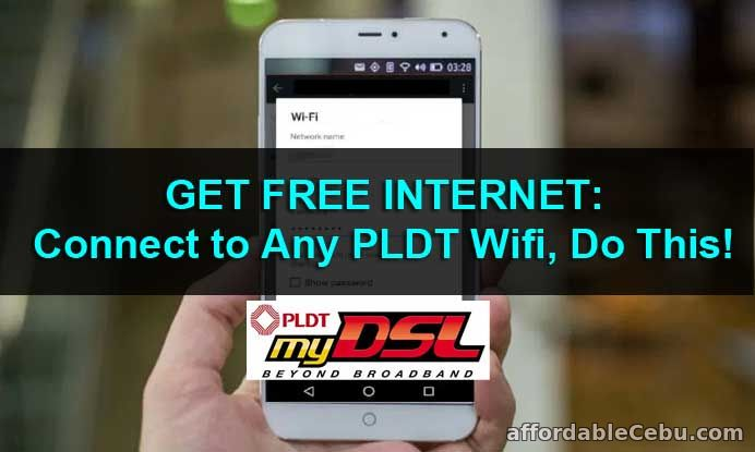 GET FREE INTERNET: Connect to Any PLDT Wifi, Do This! - Internet 30756