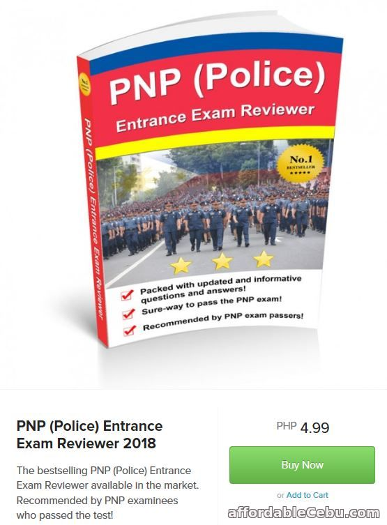 Free PNP Entrance Exam Reviewer PDF Best Reviewer