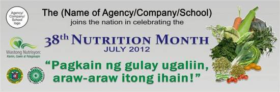 Picture of 2012 Nutrition Month