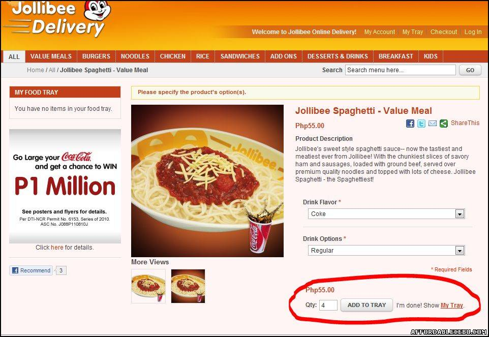 How To Order In Jollibee Delivery Online Food 420