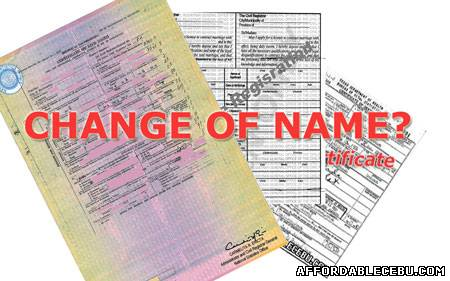 how to change surname in nso birth certificate