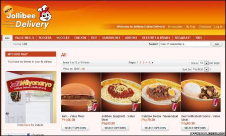 Picture of How to Order in Jollibee Delivery Online