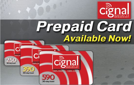 how to load cignal cable account through cignal reload prepaid card technology 4362 - Load Prepaid Card