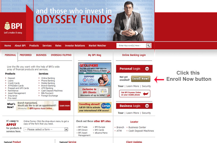 How To Apply For BPI Online Banking