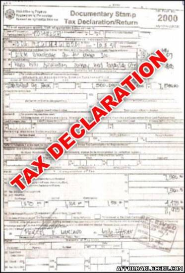 Picture of How to Secure or Get Tax Declaration in Cebu
