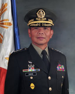 Picture of General Ricardo David takes oath as new Bureau of Immigration (BI) Chief