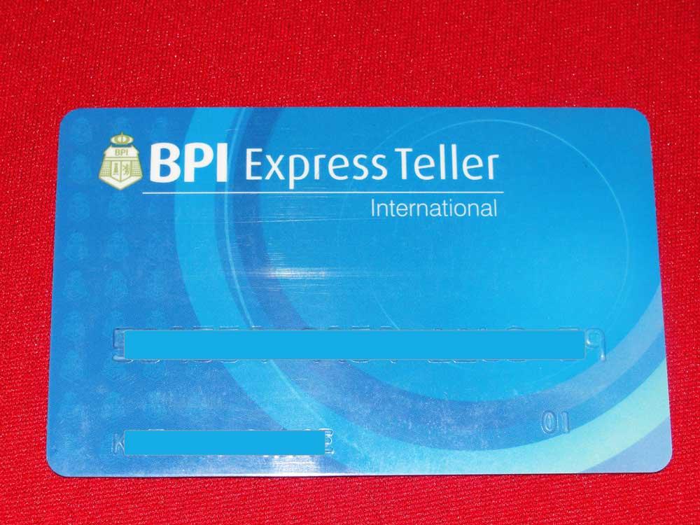 BPI ATM Card