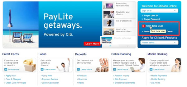 citibank business credit card online image search results