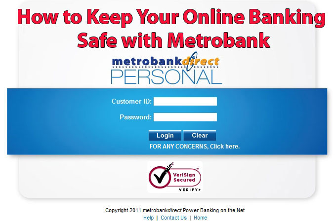 How to keep your online banking safe with Metrobank