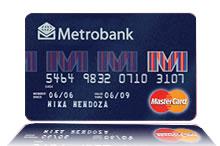 Metrobank Lite MasterCard Credit Card