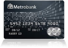 Metrobank World MasterCard Credit Card