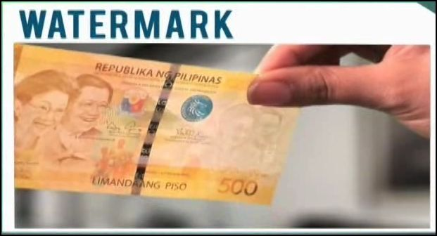 New Philippine Peso Bill Watermark