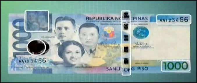 New Philippine Peso Bills Security Features