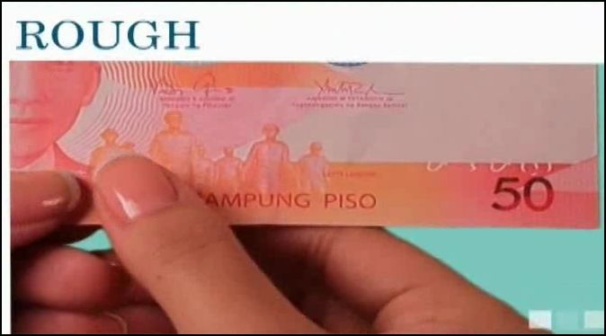 New Philippine Peso Bills are little bit rough to touch