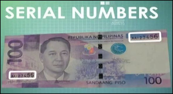 New Philippine Peso Bills serial numbers