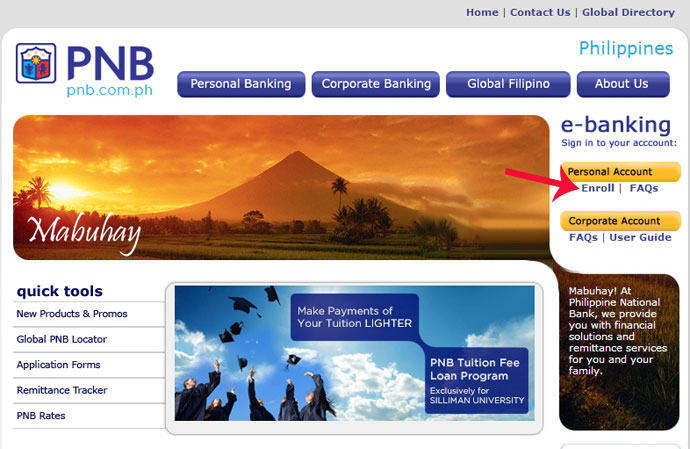 PNB online banking