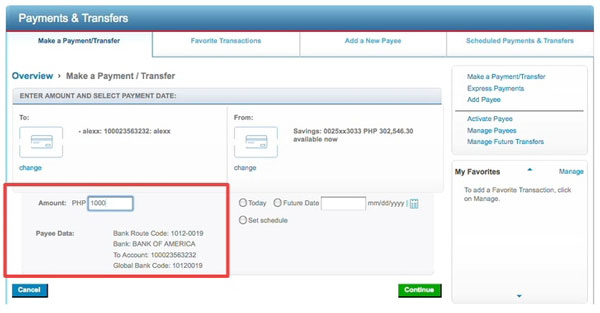 Details Of Online Bill Payment Citibank Banking