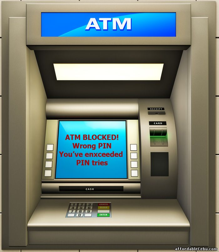 ATM Card blocked in ATM Machine